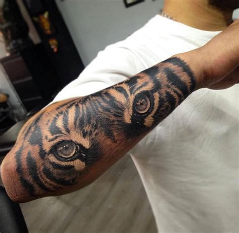 tiger tattoo on forearm 58 tiger tattoos ideas