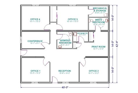 building floor plan small office floor plan room and a conference room