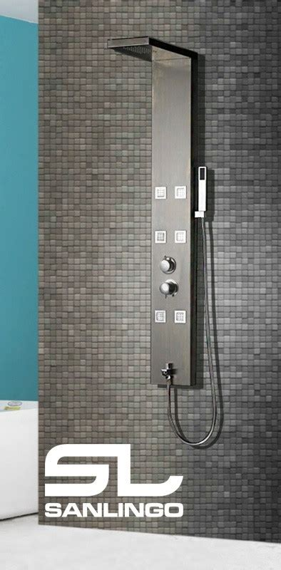 termostato doccia termostato inox spazzolato colonna doccia idromassaggio
