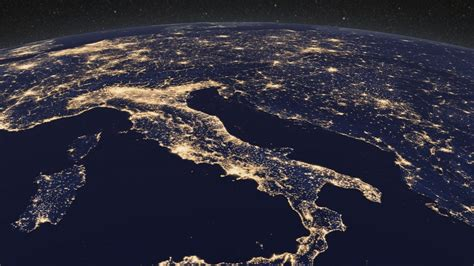 earth  night europe hd video flickr photo sharing