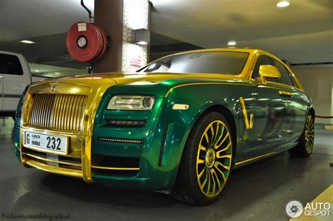 roll royce green tuningcars mansory rolls royce ghost spotted with unique wrap