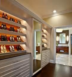 Wide White Bookcase Master Suite Closet