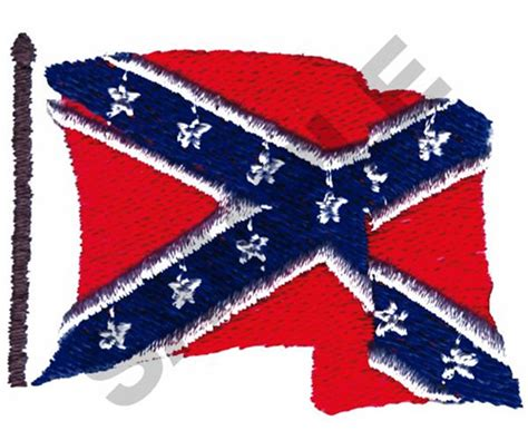 design and meaning of the confederate flag confederate flag embroidery design annthegran
