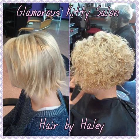 pics of bobed hair cuts permed spiral perm with a stacked bob cut pinteres