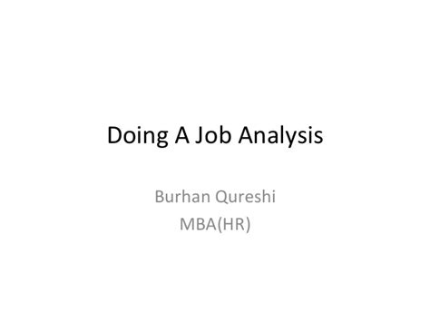 Mba Cus Visit Needed by Doing A Analysis