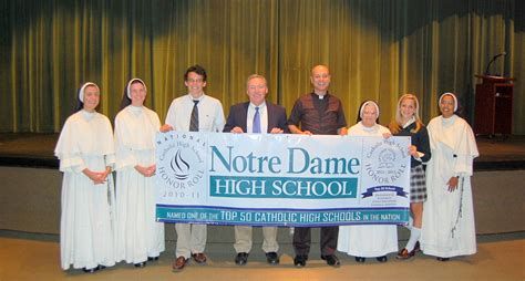 notre dame school colors notre dame knoxville catholic high schools ranked among