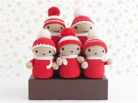 amigurumi navidad amigurumi coro de navidad amigurumis pequicosas