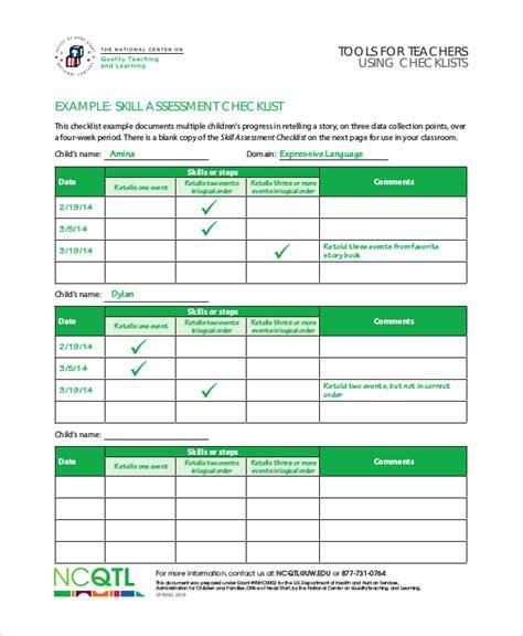 Teacher Checklist Template 10 Free Word Pdf Documents Download Free Premium Templates Skill Template