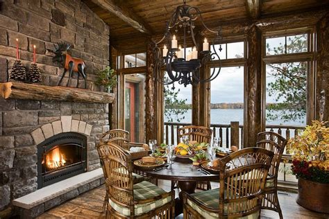 Homes With Fireplaces Log Home Fireplace Fantastic Furniture