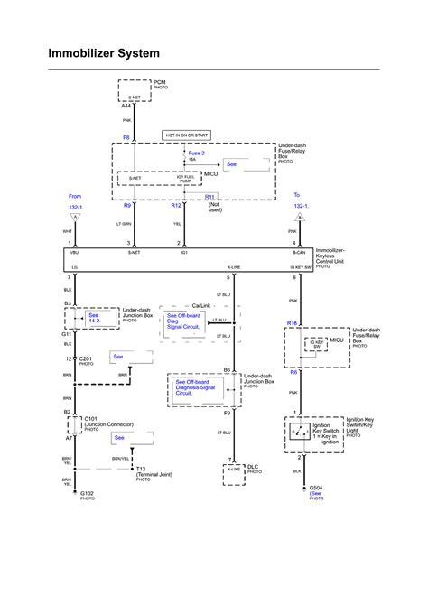1997 honda accord anti theft circuit se system wiring 2002 gmc truck 1500hd 4wd 6 0l sfi 8cyl repair