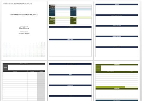 software project template word 17 free project templates smartsheet