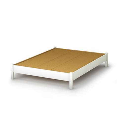 walmart platform bed queen south shore soho collection queen size platform bed