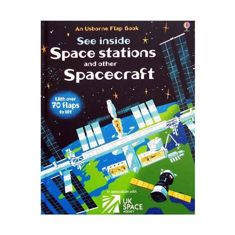 Usborne See Inside Space jual genius an usborne flap book see inside space stations