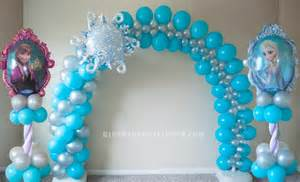 Frozen Balloon Decorations Frozen Party Decoration 11 How To Organize