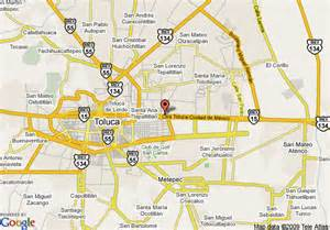 Toluca Mexico Map by Map Of Holiday Inn Express Toluca Toluca