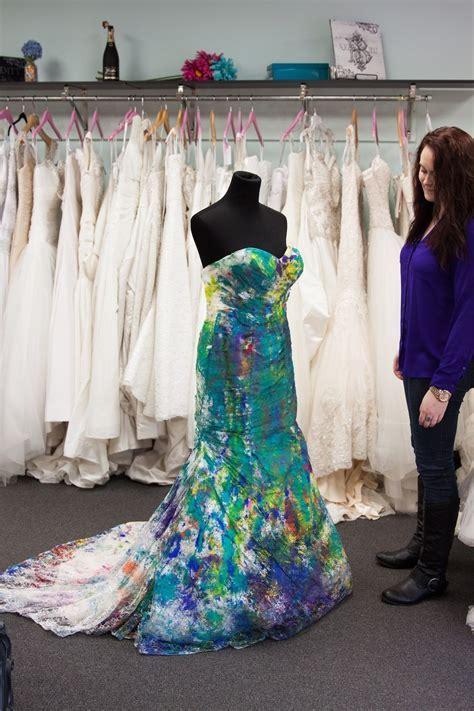 Trash The Dress: Bride Ruins Wedding Dress In The Best Way