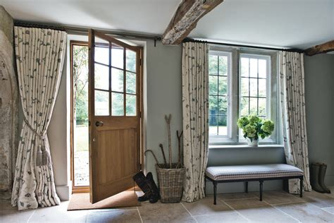 hall curtains designs ideas for decorating hall entry farmhouse with country