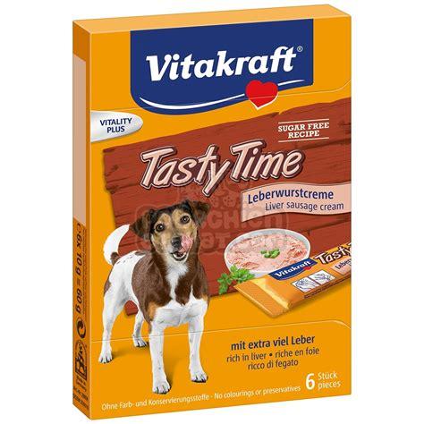 friandise pour chien vitakraft tasty time au foie