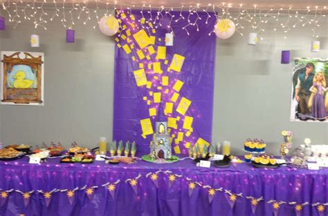 Tangled Decorations by Rapunzel Tangled Birthday Ideas Photo 19 Of 37