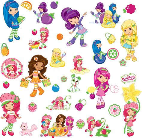 The gallery for   > Strawberry Shortcake Characters Now
