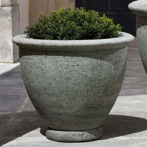 Large Outdoor Planter Pots cania international large berkeley cast planter p 512 al contemporary outdoor