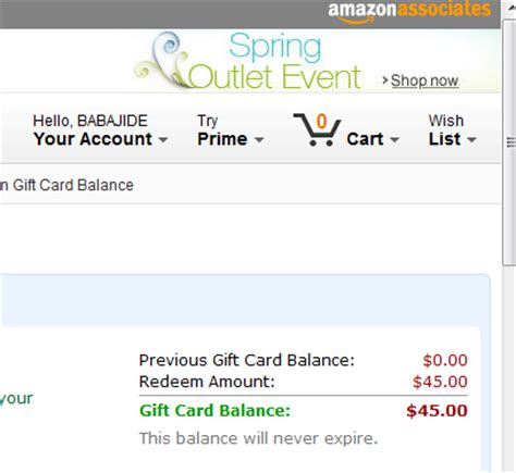 Amazon Apply Gift Card Balance To Order - amazon voucher redeem