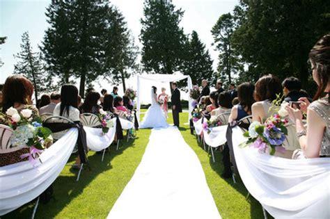 wedding arch rental vancouver shaugnessy golf country club ceremony weddings