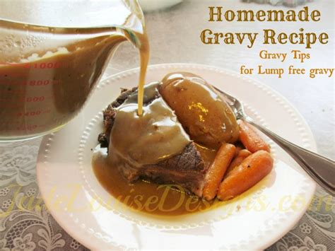gravy recipe gravy tips to make lump