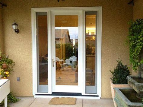 Single Patio Door With Side Windows Best 25 Single Door Ideas On Single Patio Door Doors With Sidelights