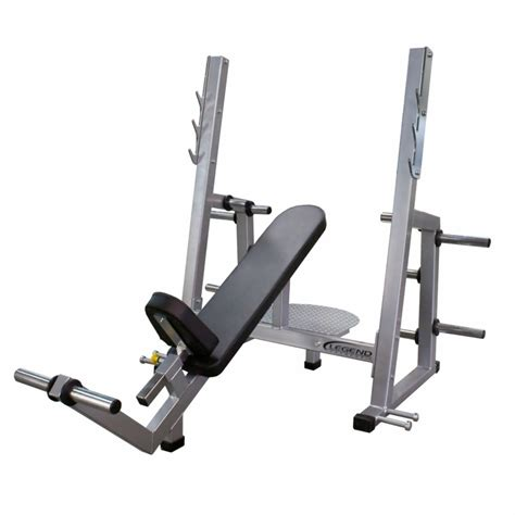 olympic bench legend fitness pro series olympic incline bench 3241