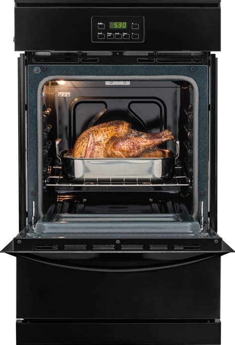 Broiler Drawer Oven by Frigidaire Ffgw2415qb 24 Inch Single Gas Wall Oven With