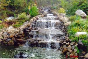 best way to build a waterfall tropical fish keeping