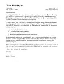 Personnel Recruiter Cover Letter by Sle Recruitment Letter The Best Letter Sle