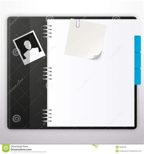 notebook design template notebook with black cover vector design stock vector