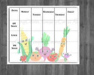 Preschool Menu Template by 25 Best Ideas About Daycare Menu On Toddler