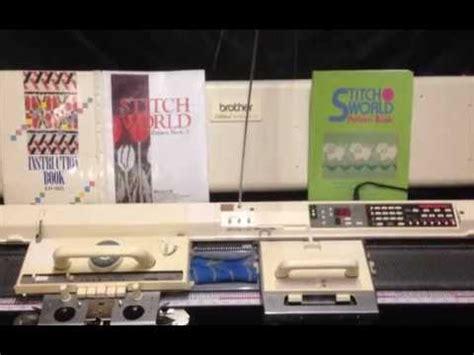 930e knitting machine for sale electroknit videolike