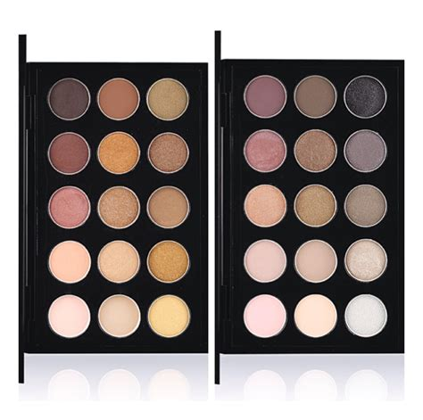 Eyeshadow X15 Cool Neutral mac eyeshadow x 15 warm cool neutral palettes