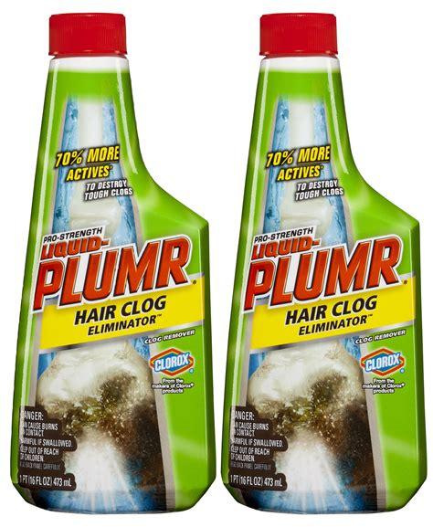 amazoncom liquid plumr pro strength clog remover urgent clear  fluid ounces total health