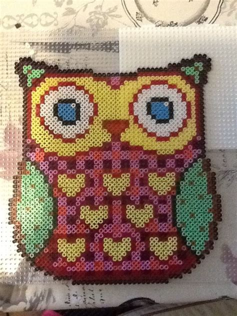 perler bead patterns owl owl perler perler