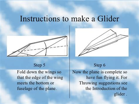 How To Make A Paper Airplane That Turns - how to make a paper plane