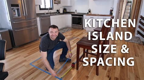 kitchen island spacing kitchen island size and spacing ideas