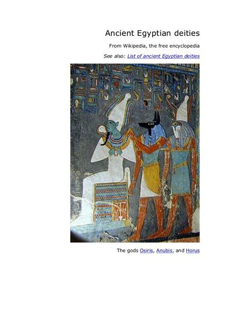 list of roman deities wikipedia the free encyclopedia ancient egyptian deities