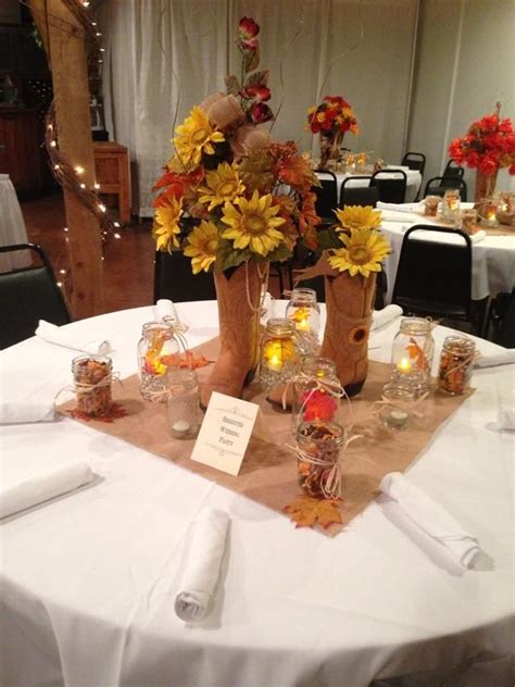 deco themed wedding western wedding centerpieces ideas wedding decorations western wedding