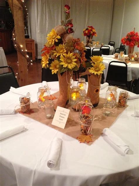 Western Wedding Centerpieces Ideas   Wedding Decorations