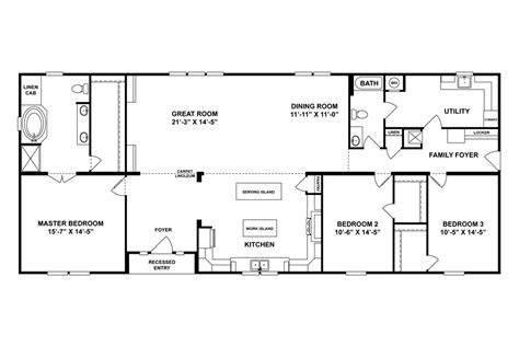 oakwood mobile home floor plans floorplan the veranda 30scl32723ah oakwood homes of