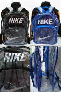 Sepatu Nike Transparan tas g sport
