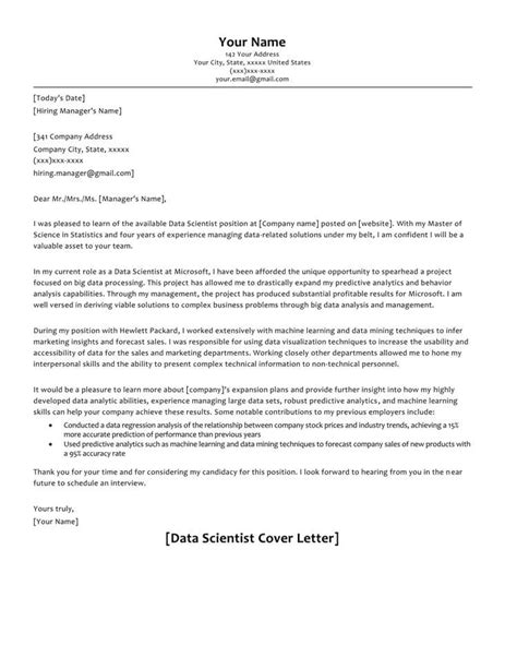 cover letter samples  correct format  write