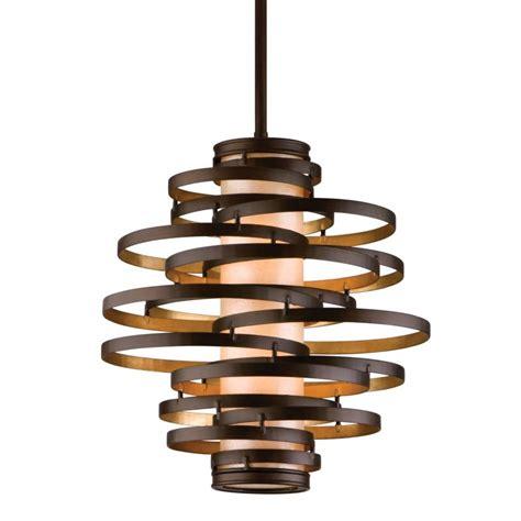 Corbett Vertigo Small Pendant Light Lightingshowplace 113 42 In Bronze Gold Leaf By Corbett Lighting