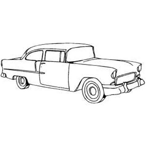 coloring pages of classic cars classic typical car coloring sheet