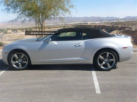 2012 Camaro 2lt by 2012 Chevy Camaro Convertible Rs 2lt